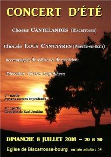 Concerts et repertoires