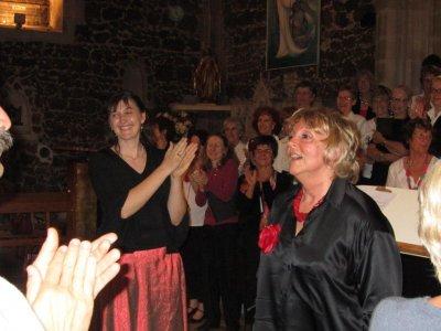 """11 mai 2012   Eglise St Martin de Biscarrosse- choeur Cantelande et l'ensemble vocal """"Hémiole"""""""