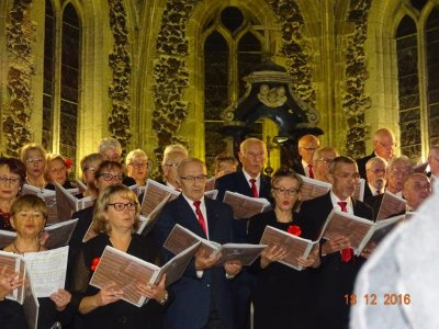 18 décembre 2016- concert de Noël : Cantelandes - Chorale Freedom d'Ares - Ensemble traditionnel Ostinato