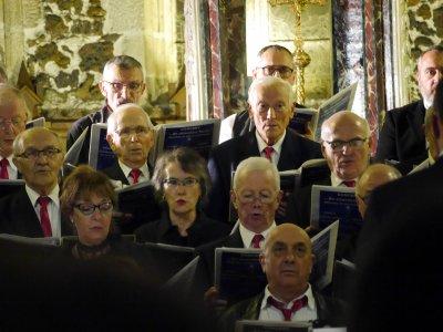 17décembre 2017 ; concert noel église Biscarrosse : Cantelandes et Méli-Mélodie( Marcheprime)