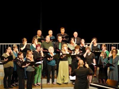 26 mai 2018 : concert du jumelage Biscarrosse - Forchheim à l'Arcanson (Cantelandes et Messa di Voce)