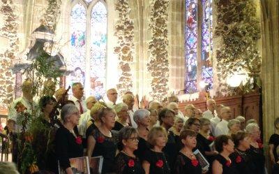 8 juillet 2018 - Concert d'été église de Biscarrosse - Cantelandes et Lous Cantayres