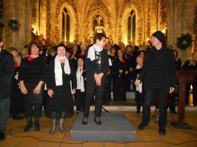 16 Décembre 2018 - Concert de Noël église de Biscarrosse - Cantelandes et Cantissimo